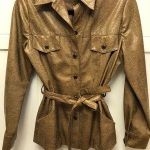 GUC Vintage animal print Jacket